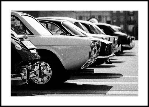 poster voitures vintage
