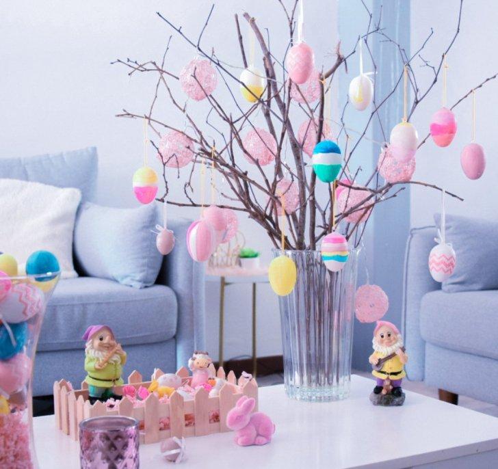 Diy décoration maison - arbre de pâques