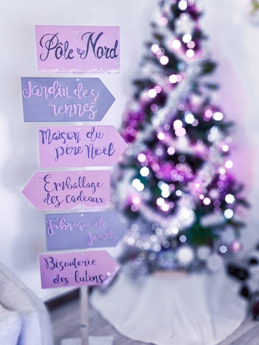 Panneau de Noël