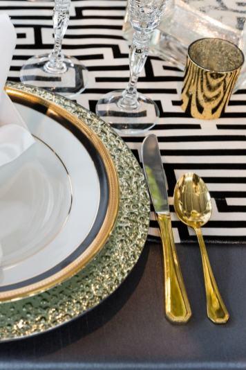 10 idées de décoration de table pour le nouvel an