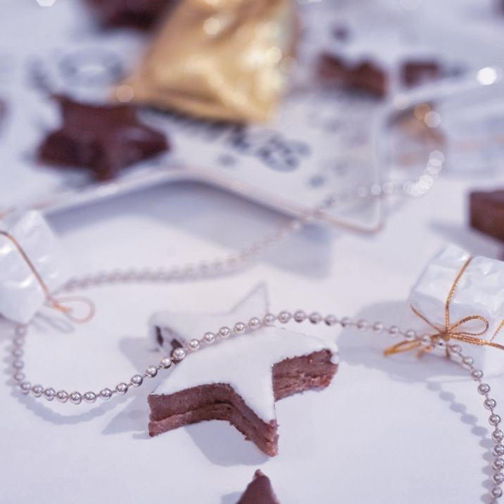 Recette étoiles chocolat