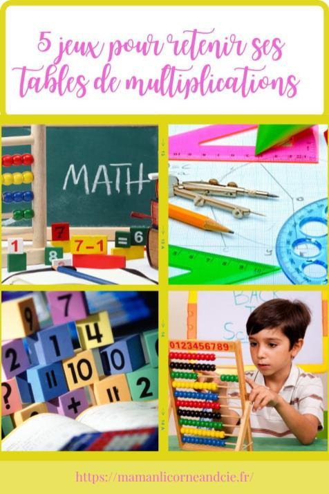 Retenir ses tables de multiplications rapidement