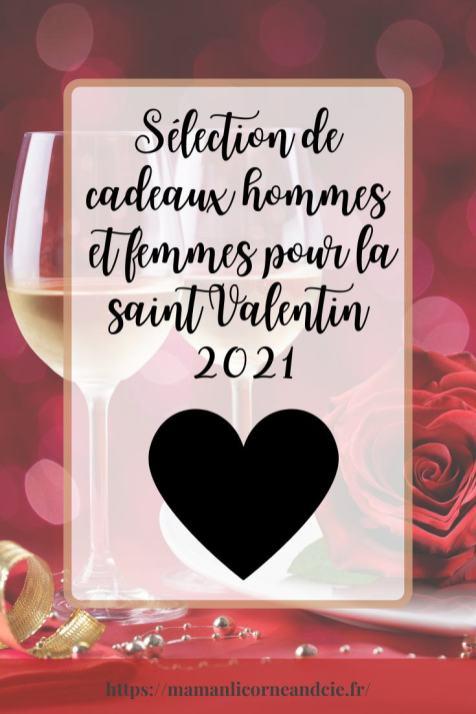 Sélection de cadeaux hommes et femmes pour la saint Valentin 2021