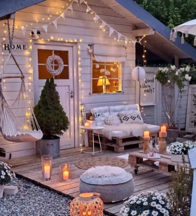 Inspirations terrasse cocooning été