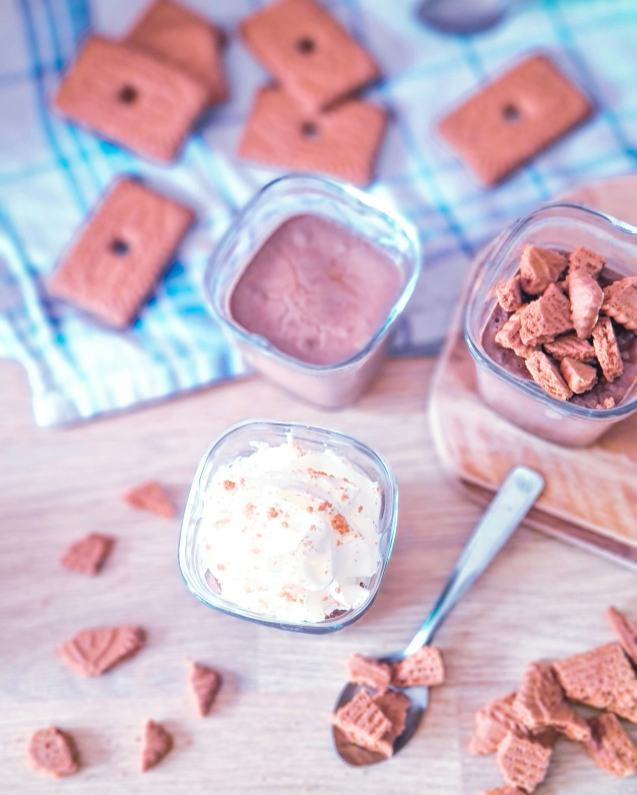 Crèmes Speculoos chocolat yaourtière