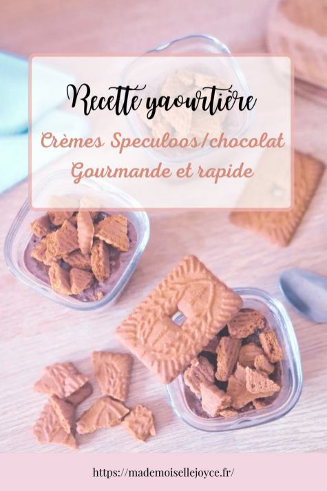Crèmes speculoos yaourtière