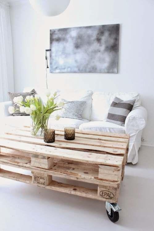 DIY table de salon en palettes