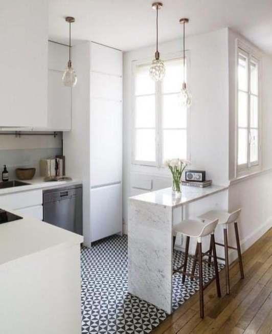 Décoration petite cuisine blanche