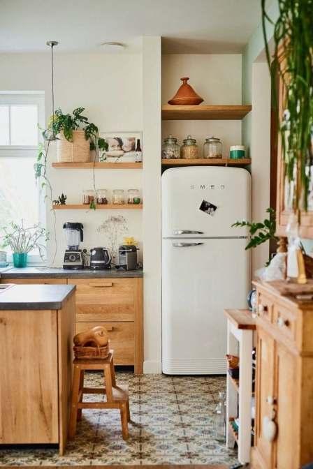 Décorer une petite cuisine bois