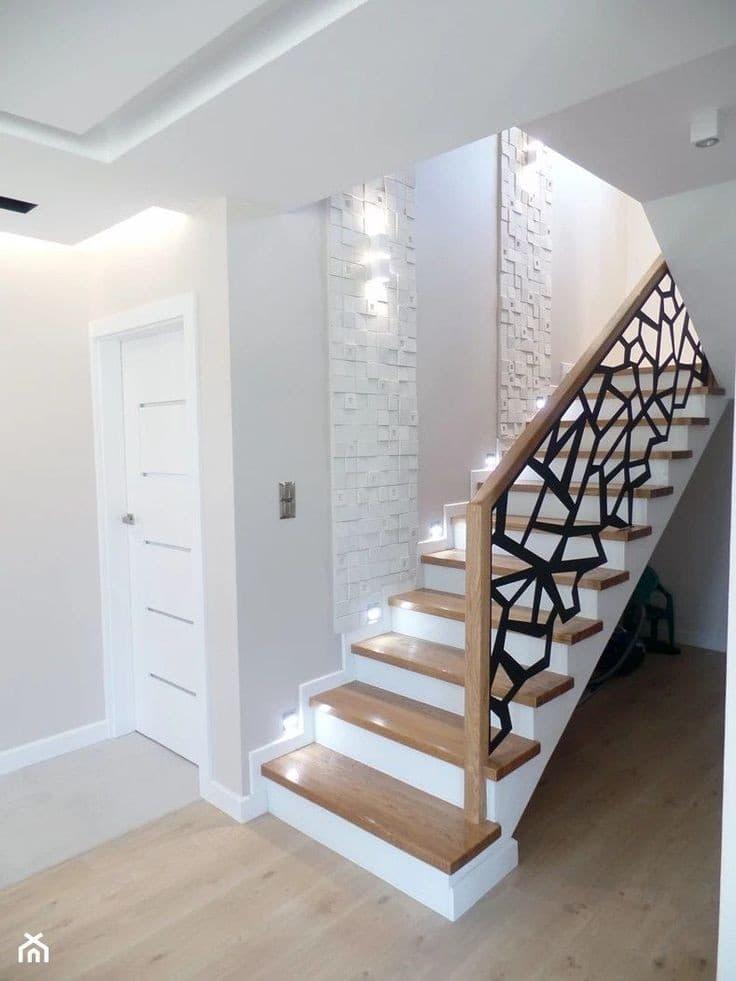 Escaliers avec leds