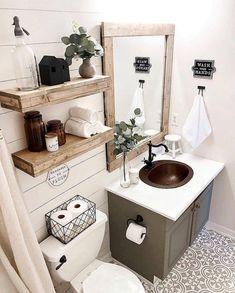 Idées déco petite salle de bain
