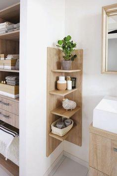 Rangement petite salle de bain