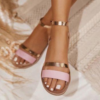Sandales été 2021 roses