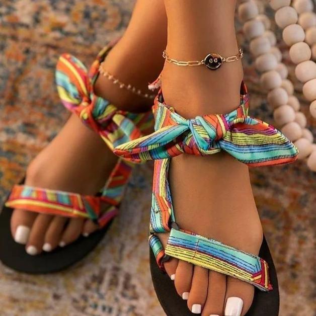 Sandales plates été 2021