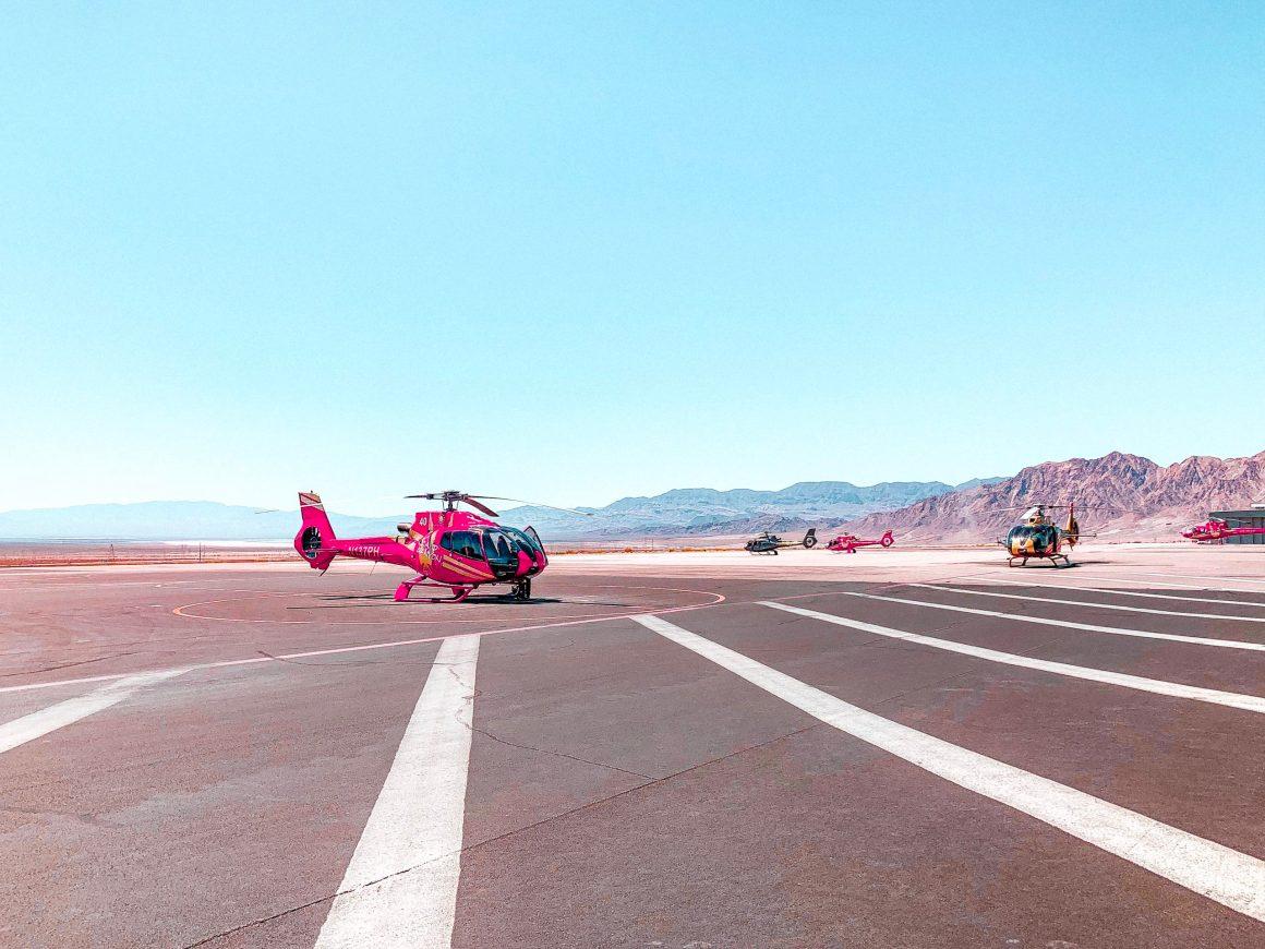 Survoler le grand canyon en hélicoptère