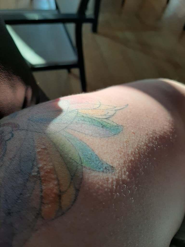 Mon Tatouage Pele Et S'efface : tatouage, s'efface, Tatouer, Percer, FAIRYDESFOLIES
