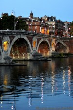 Bridge in the evening light