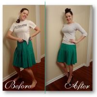 """The """"I've Gained Weight"""" Skirt Tutorial"""