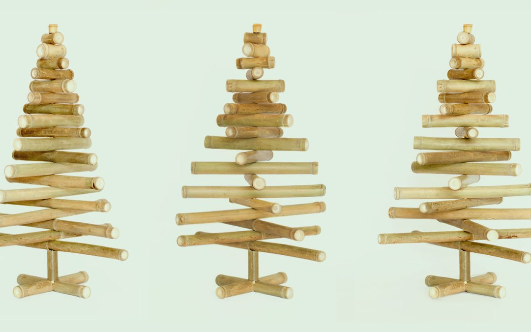 Make your own Bamboo Christmas Tree