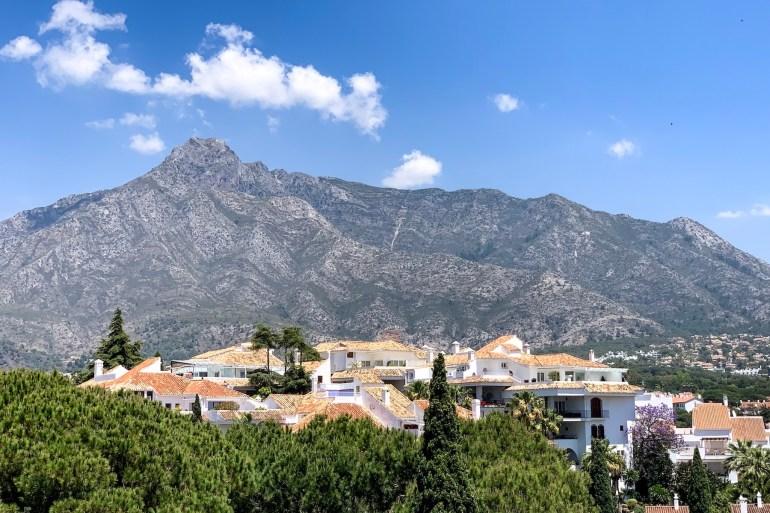 Mountain La Concha overlooking Marbella