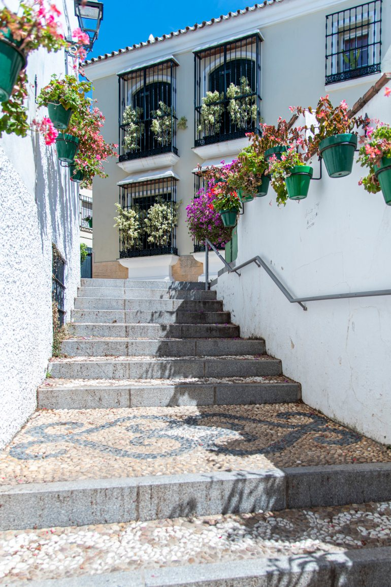 Staircase in Old Town of Estepona