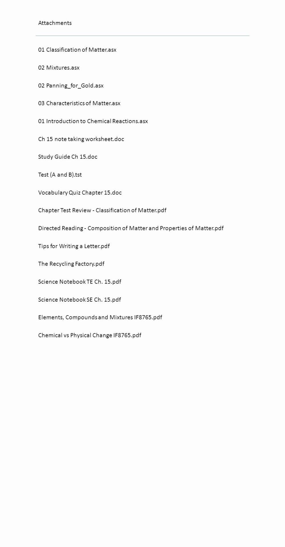 medium resolution of 12 Classifying Matter Worksheet Answer Key   Worksheets Ideas Printable