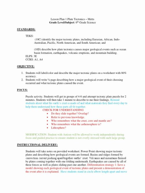 small resolution of 12 Plate Tectonics Worksheet 6th Grade   Worksheets Ideas Printable