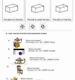 12 Preposition Worksheets for Grade 1   Worksheets Ideas Printable [ 1413 x 1000 Pixel ]