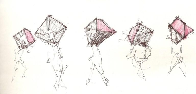 Humberto Castro, Casulo, desenho