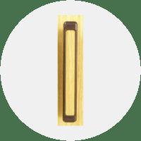 Tirador ABS puerta plegable