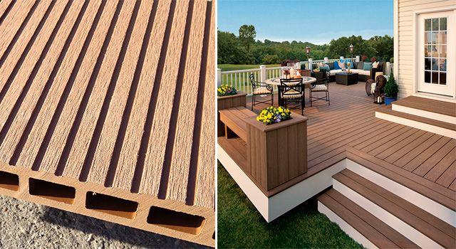 Suelos de composite para exterior vs tarima de madera - Suelo terraza exterior precios ...