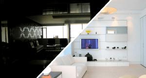 decoración e iluminación de habitaciones
