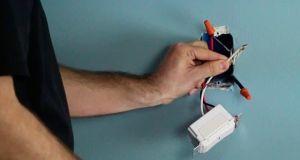 instalar regulador de luz
