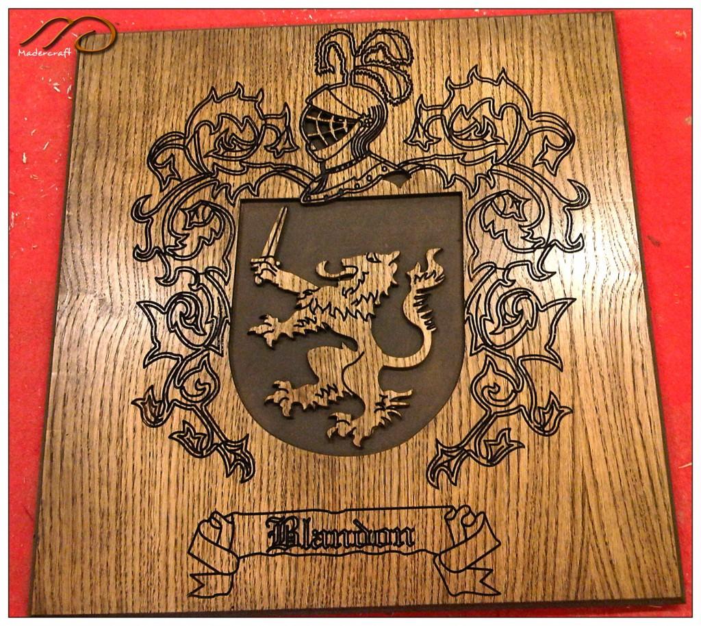 Escudos heraldicos  MaderCraft
