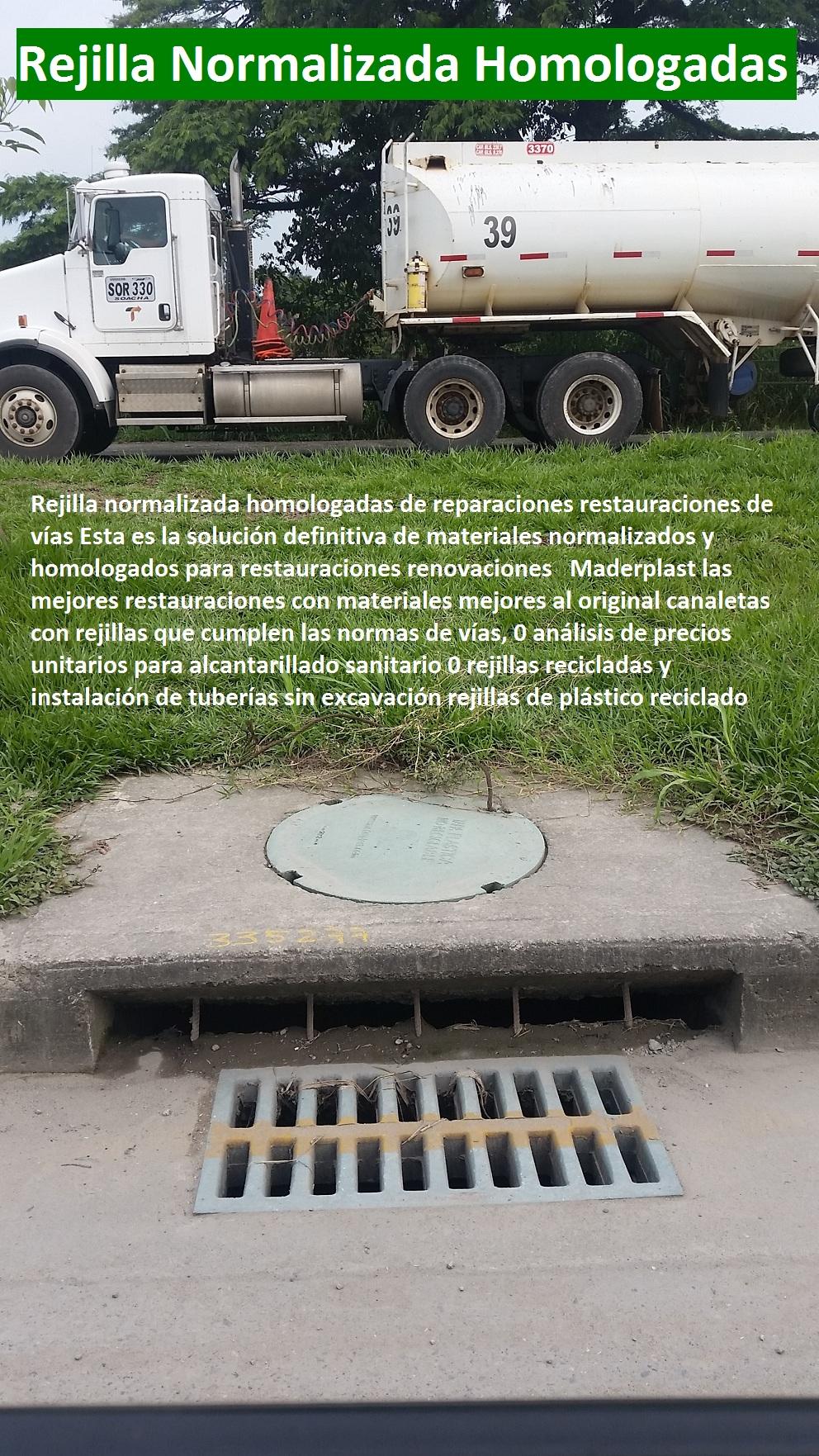 REJILLAS Y SUMIDEROS PLASTICOS