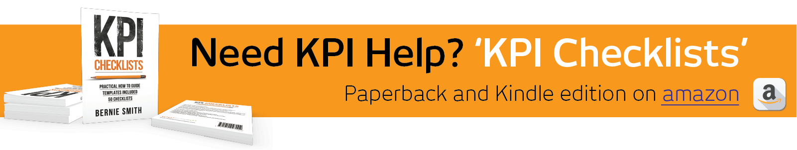 Need KPI help - KPI Checklists book