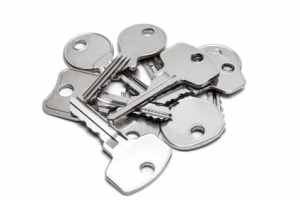 too many keys - visual metaphor for too many kpis