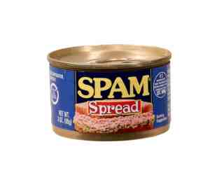 Tin of spam. Holds the key to report engagement