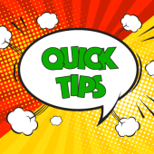 Quick tips icon