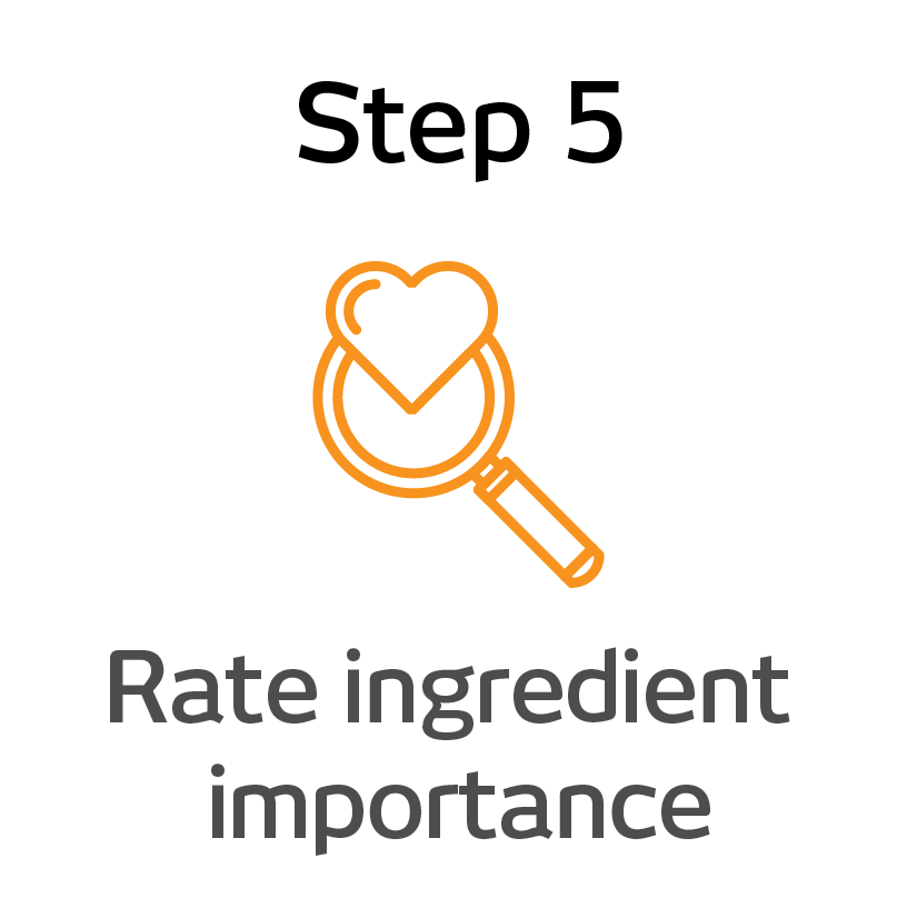EPIK Step 5 - rate ingredient importance@3x