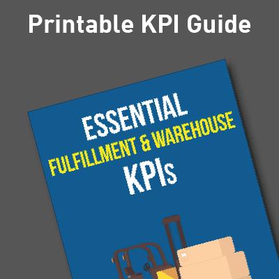 Fulfillment and Warehouse KPI Guide Ad image