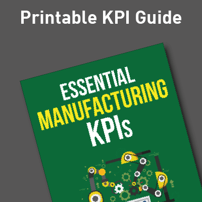 Manufacturing KPI Guide Ad image