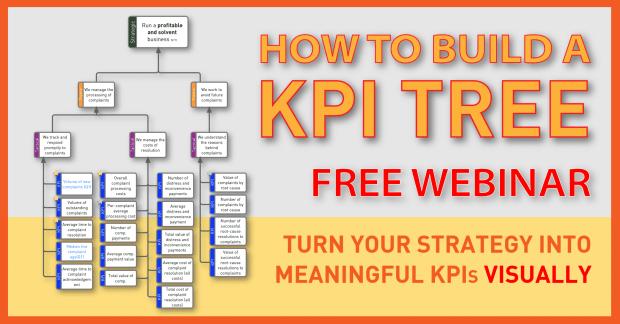 How to build a KPI Tree - Webinar Advert