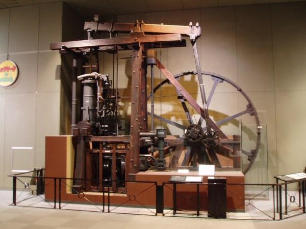 In Britain Steam Engine James Watt 1769