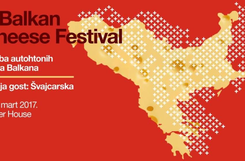 Fiera del formaggio balcanico a Belgrado