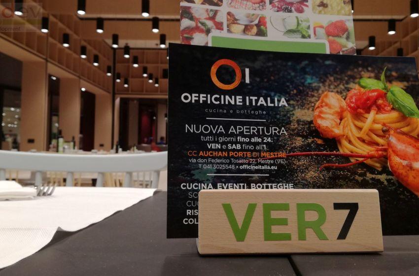 Inaugurato ieri Officine Italia, la Food Court secondo Ethos e Auchan