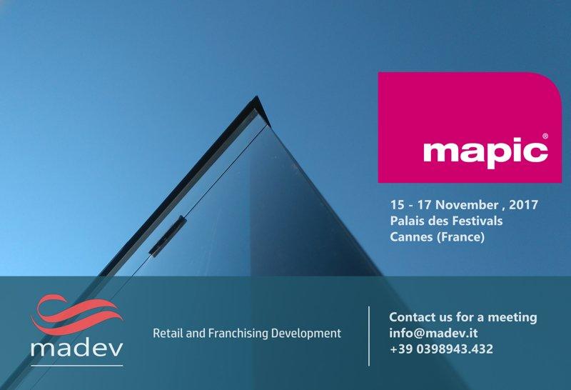 MADEV al MAPIC di Cannes per parlare di Sviluppo retail