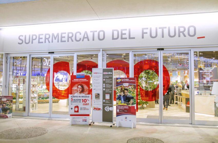 Il supermercato del futuro non è quello di Coop.