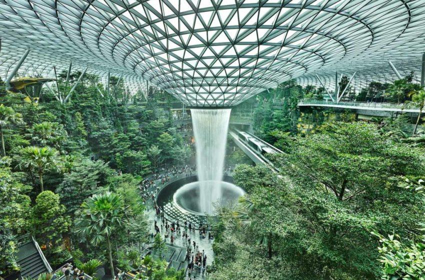 L'aeroporto più bello del mondo cerca retailer.