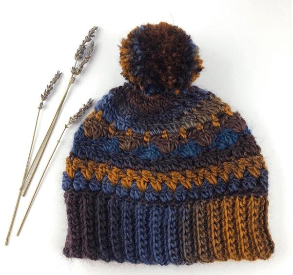 Sweet Harmony PomPom Hat